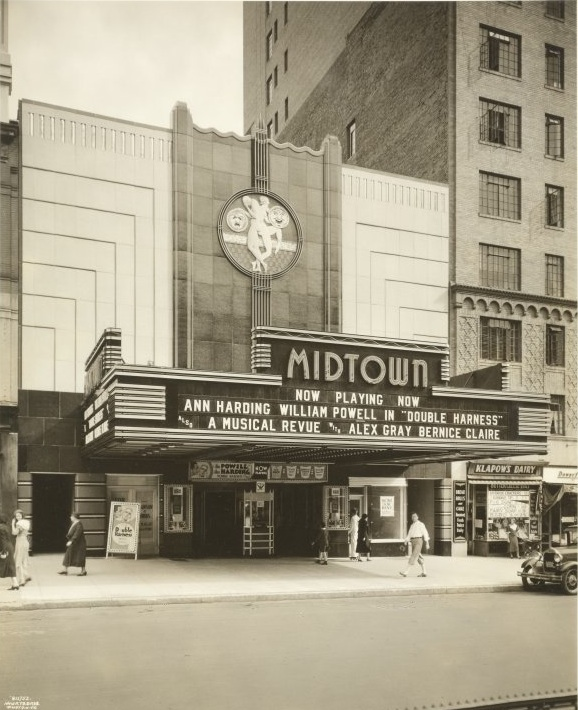 old theaters in New York City | Ephemeral New York