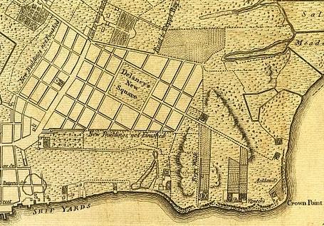 Lower East Side New York Map.Lower East Side Street Ephemeral New York
