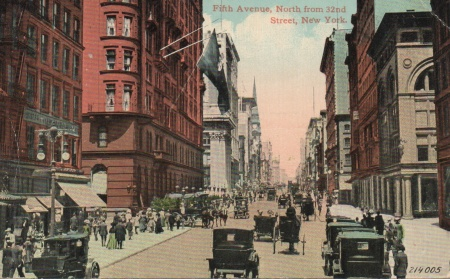 Fifthavenue32ndstpostcard