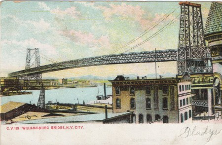 Williamsburgbridgepostcard