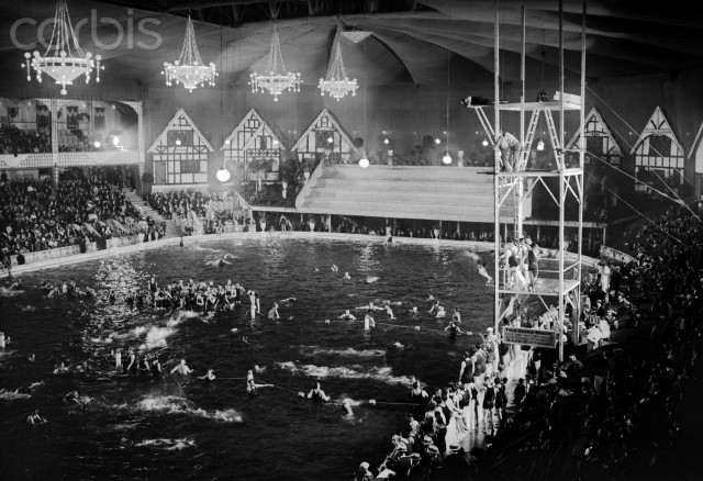Madison square garden second version ephemeral new york for Garden city swimming pool