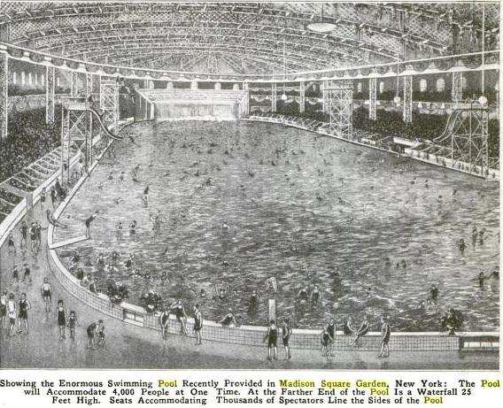 1920s new york city ephemeral new york for Garden city pool new york