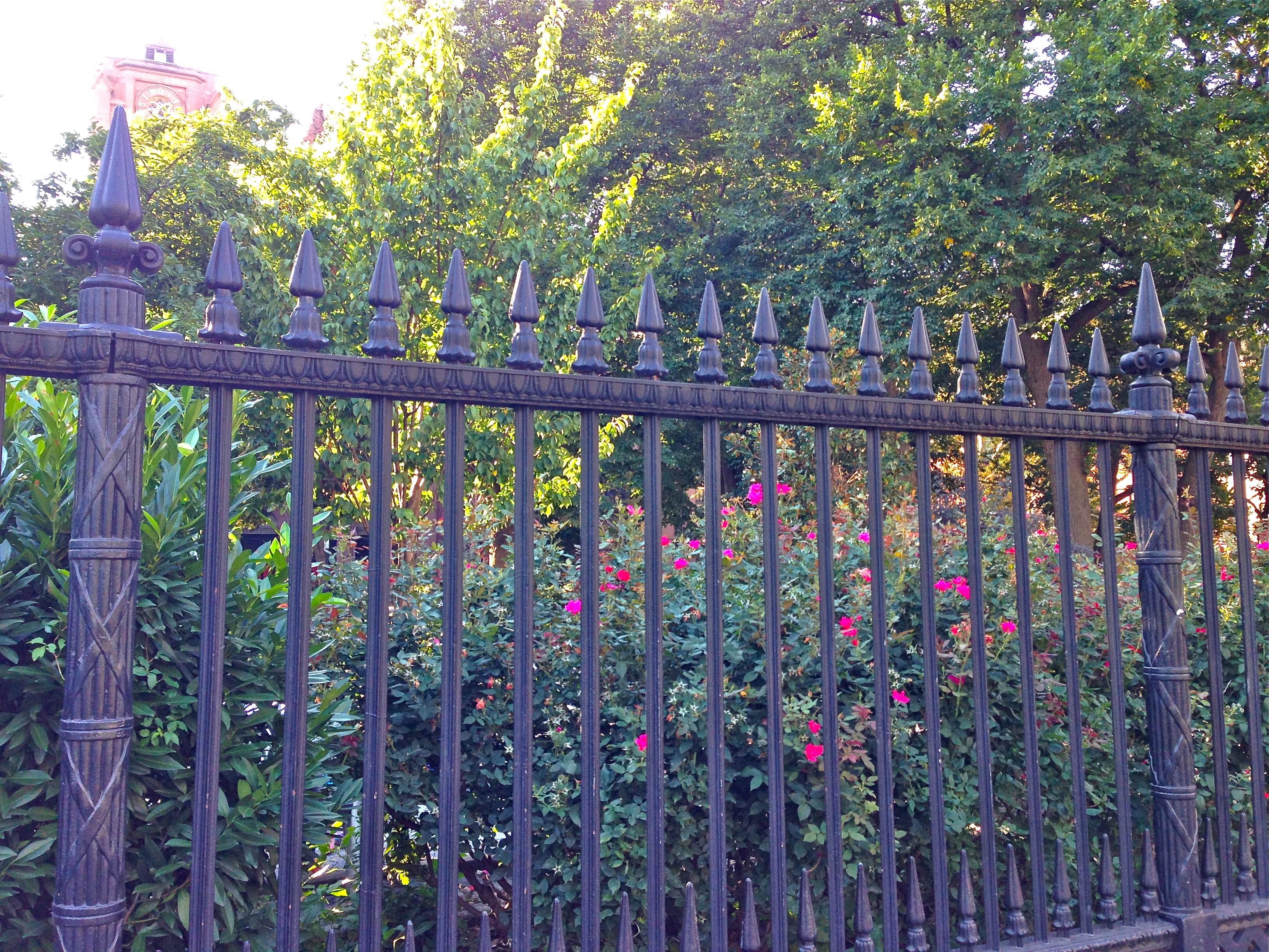Is This The Oldest Iron Fence In New York City Ephemeral New York