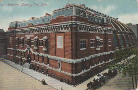 69th armory postcard
