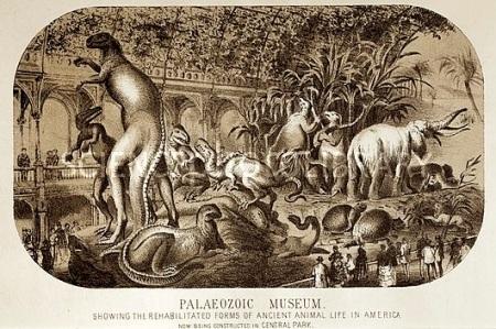 1869 Central Park Dinosaurs Hawkins full