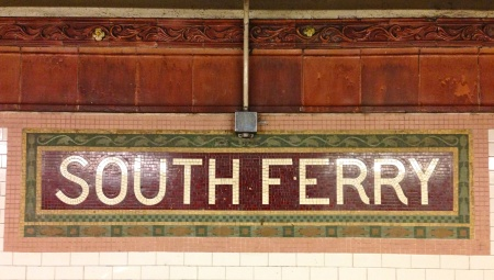 Southferryplaquesign