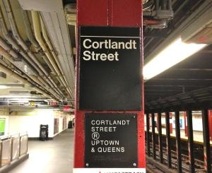 Cortlandtstreetsubwaysign