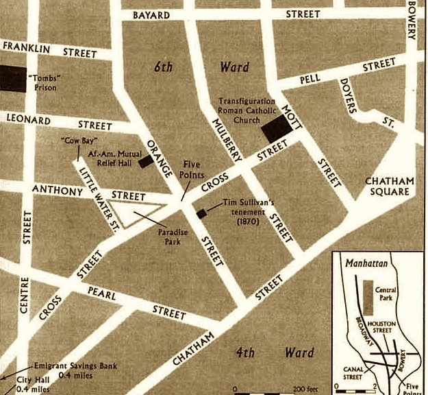 Five Points slum | Ephemeral New York