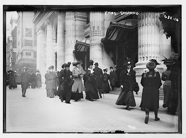 Old Photos Of Christmas Shopping Ephemeral New York