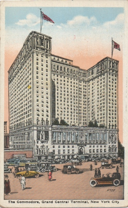 Commodorehotelpostcard
