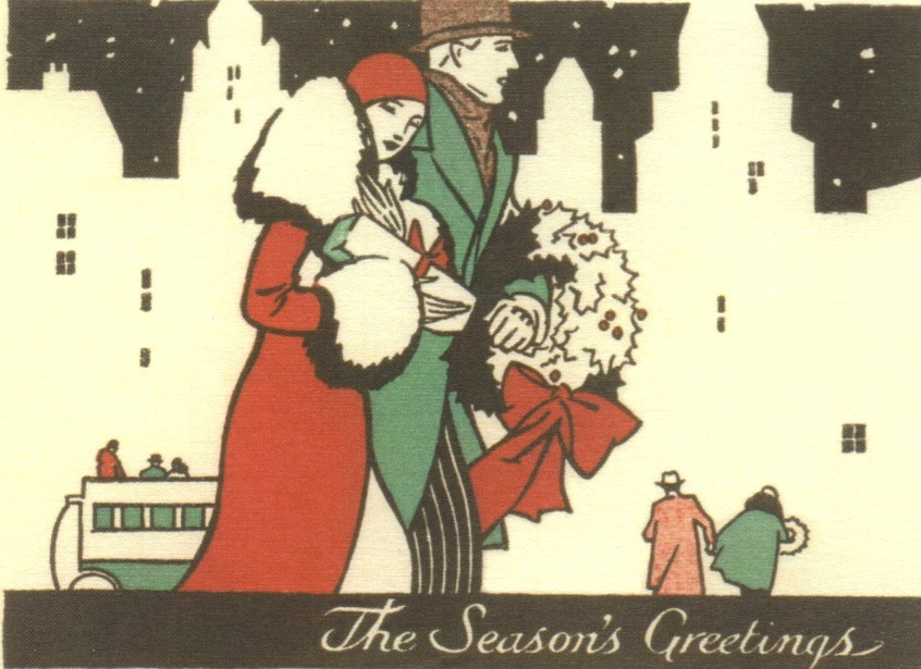 New York During Christmas Time.Celebrating A New York Christmas 1920s Style Ephemeral