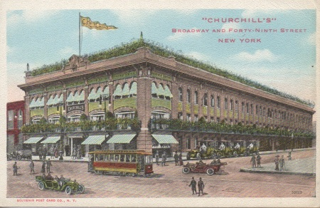 Churchillsrestaurantpostcard