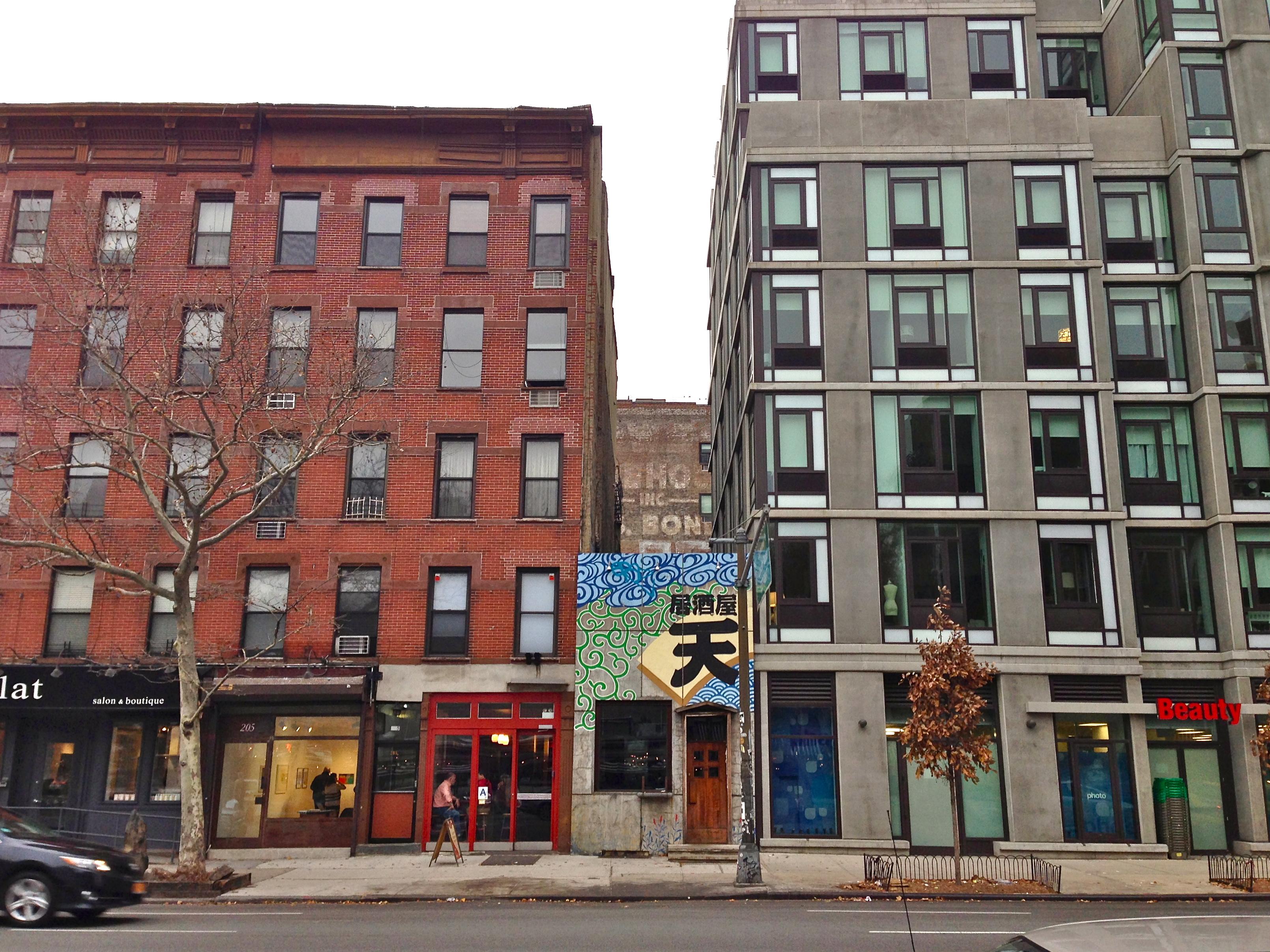 new york city holdout buildings ephemeral new york