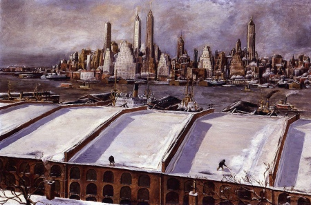 Johncunningmanhattanskyline1934