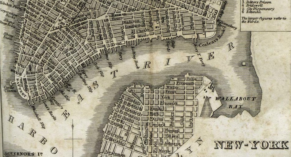 Old Map Of New York.Old Maps New York City Ephemeral New York