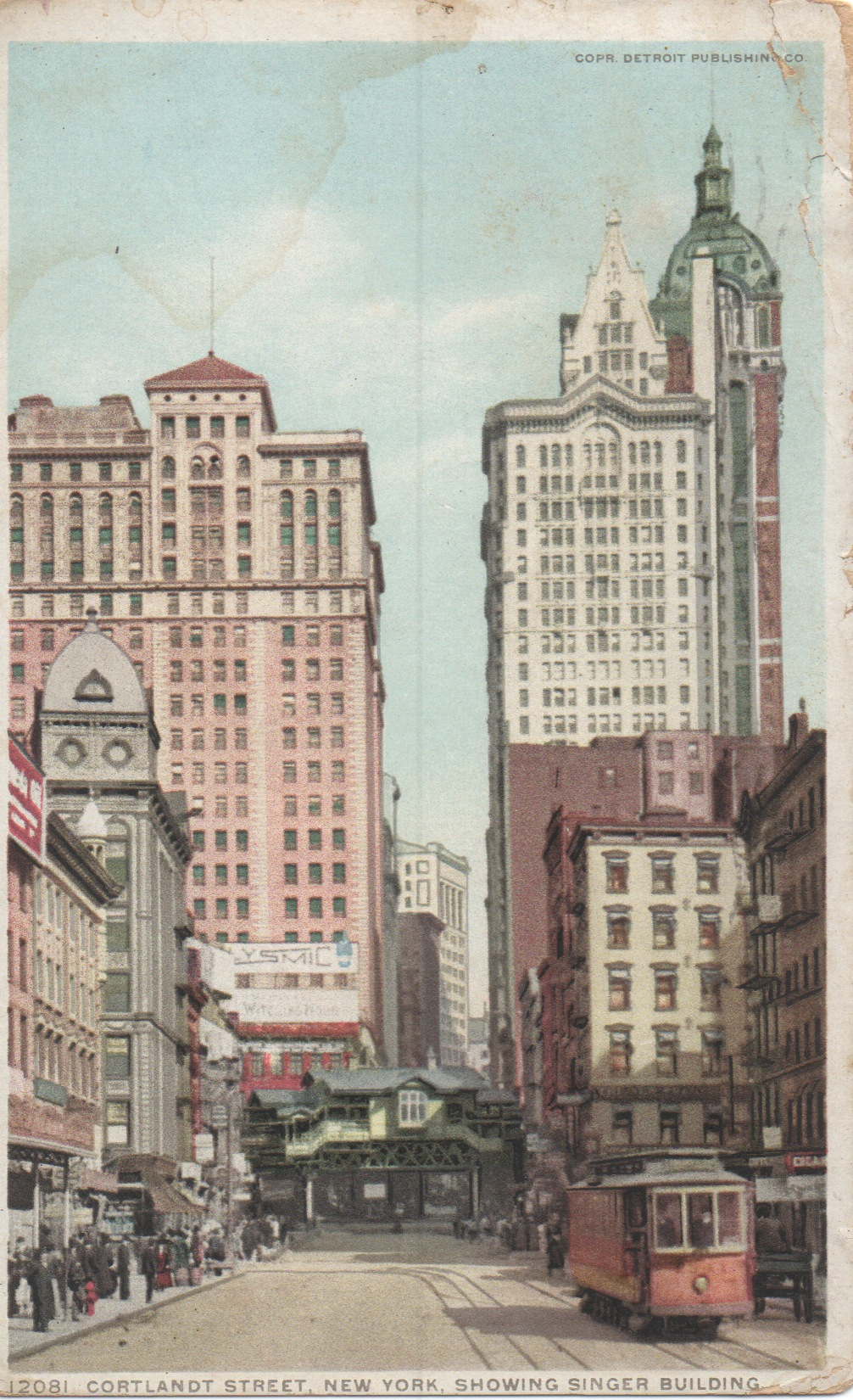 New York City 1978 Naked By Daylight: Vintage New York Postcards