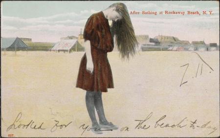 Rockawaybeachpostcardmcny