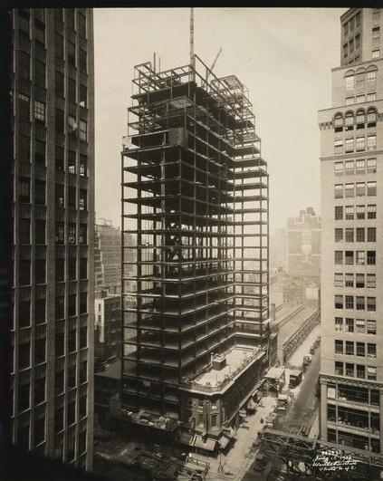 garment district art nouveau ephemeral new york