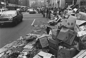 NYCgarbagestrike1981