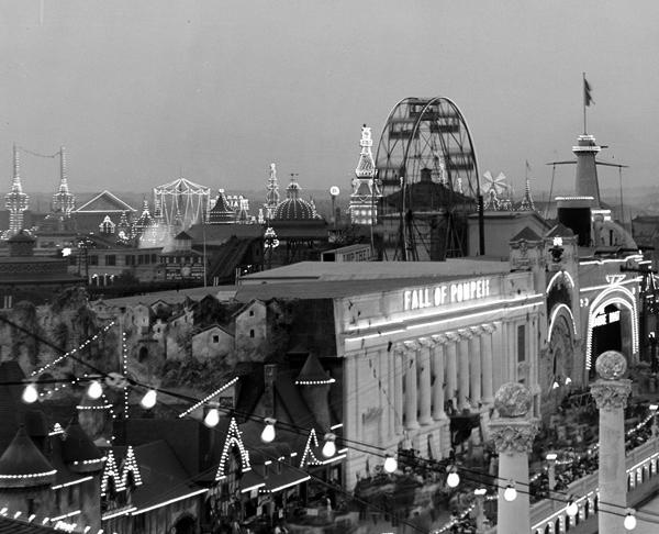 amusement parks of coney island ephemeral new york. Black Bedroom Furniture Sets. Home Design Ideas