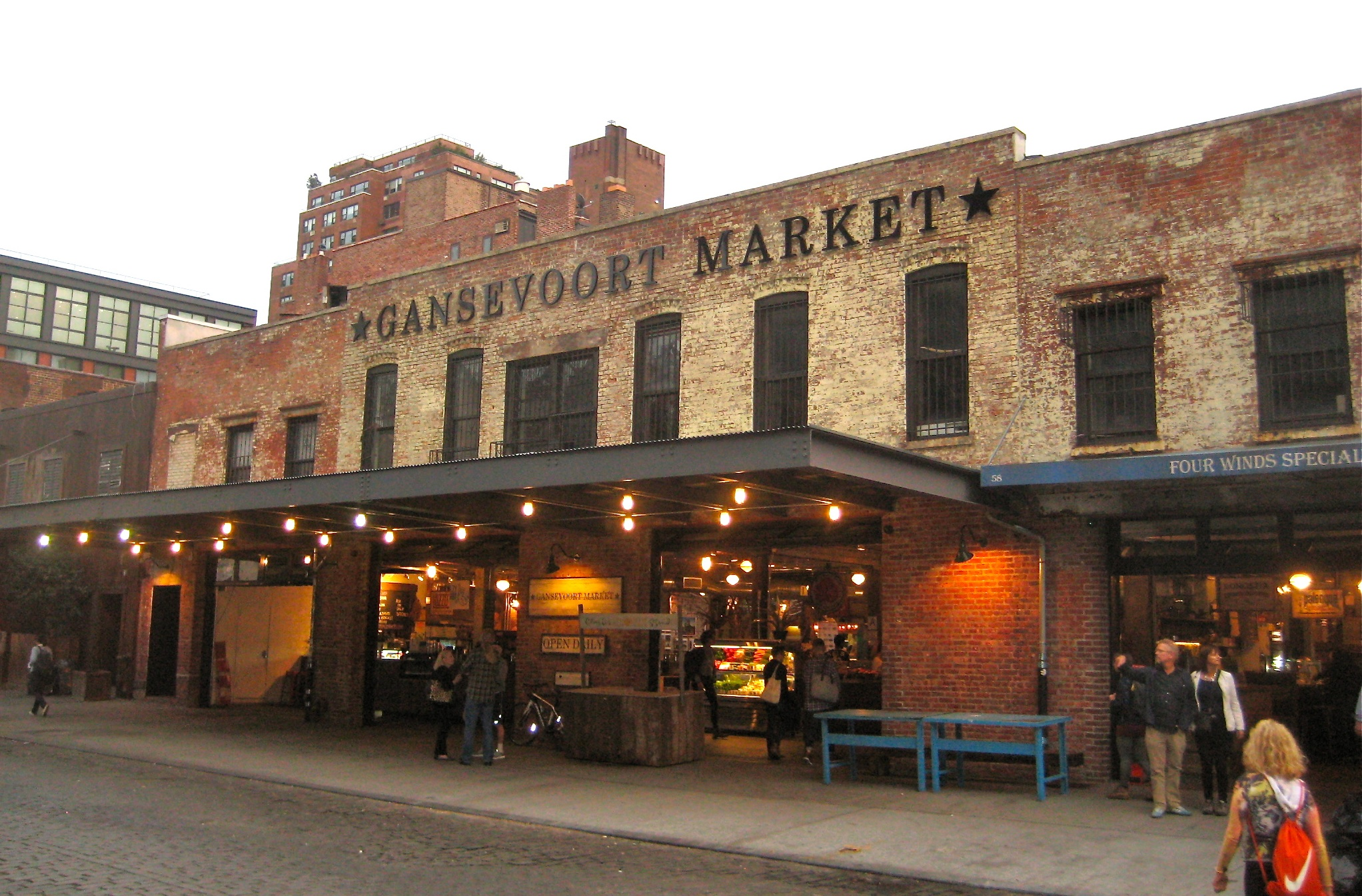 Gansevoort Market visiting the 1884 original gansevoort market | ephemeral new york