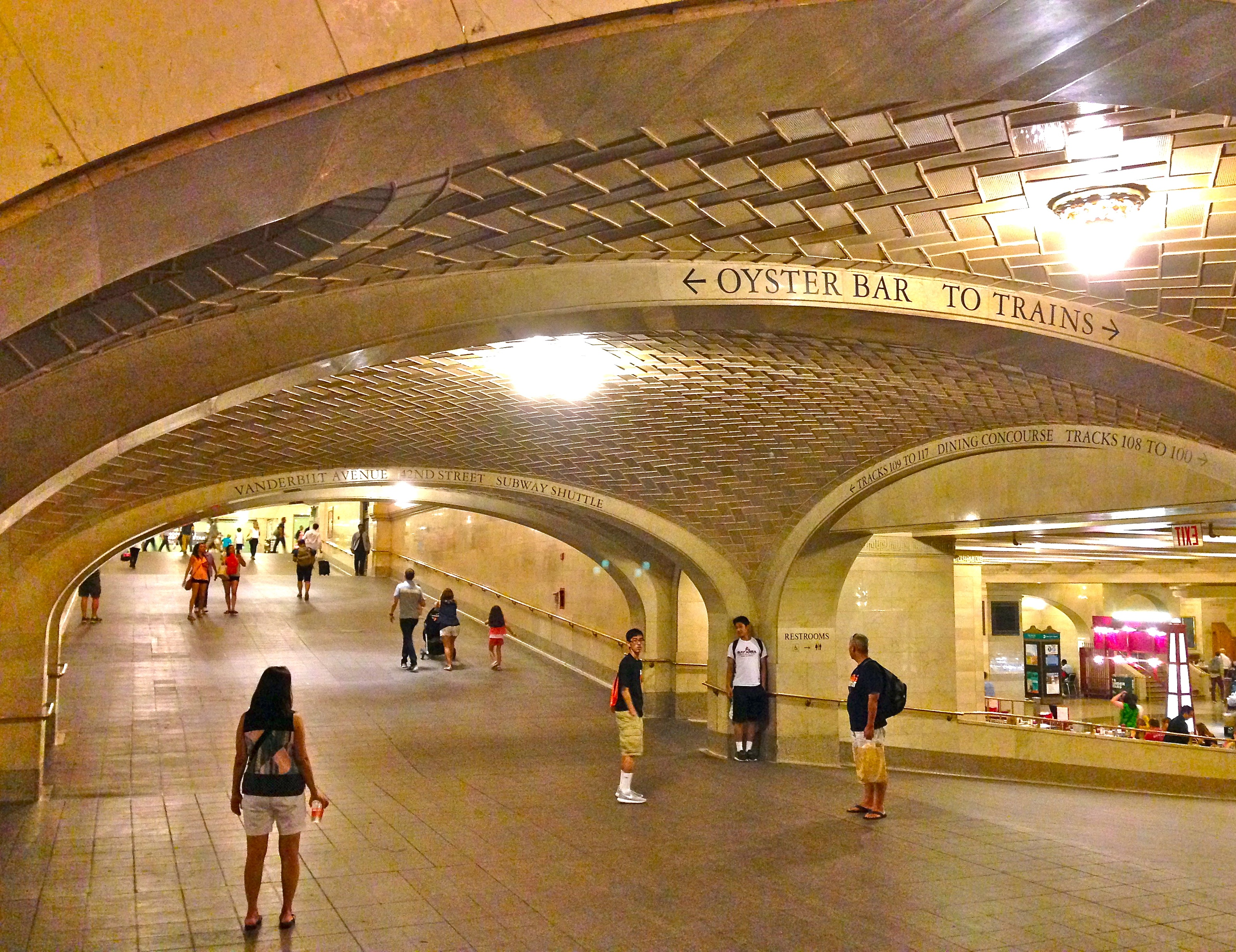 The Whispering Gallery In Grand Central Terminal