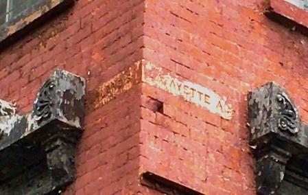 Lafayettecumberlandstreetsign