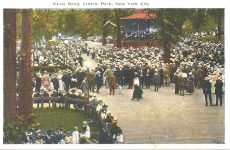 Musicbandcentralparkpostcard3