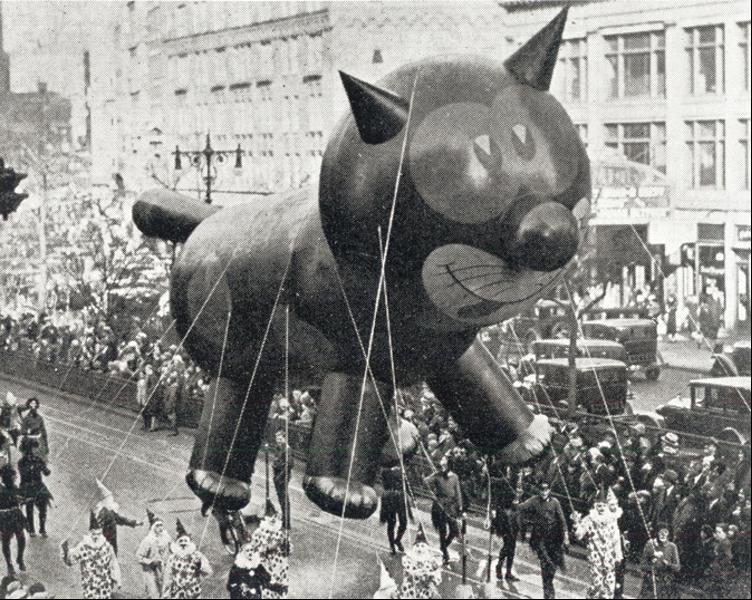 Vintage Parade Floats Macys Thanksgiving