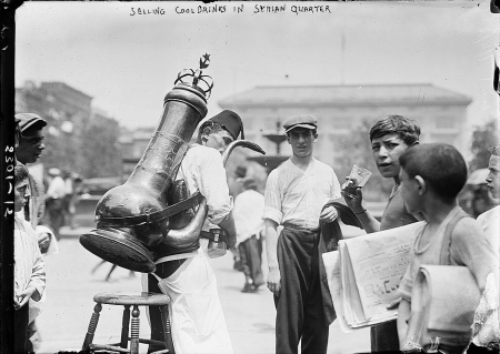 Syrianquarterdrinks1916bain