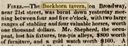 Buckhorntavernfire