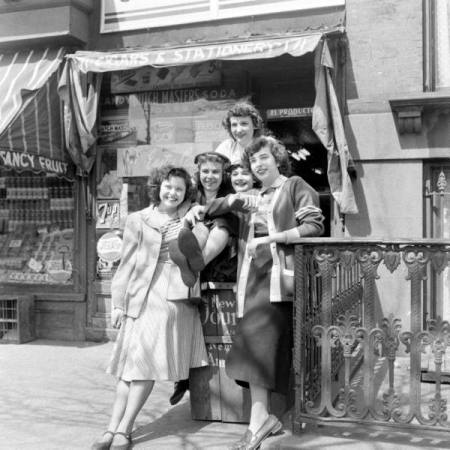 Spring Comes To Brownstone Brooklyn In 1949 Ephemeral