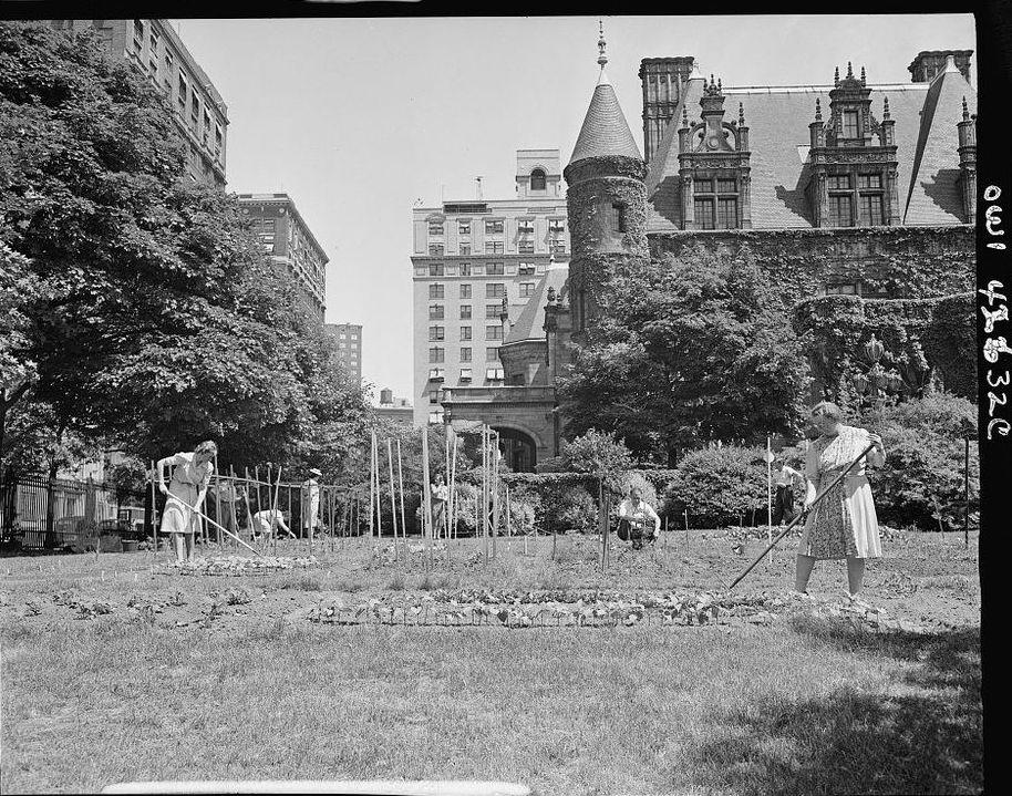 Garden On Park Avenue Ephemeral New York