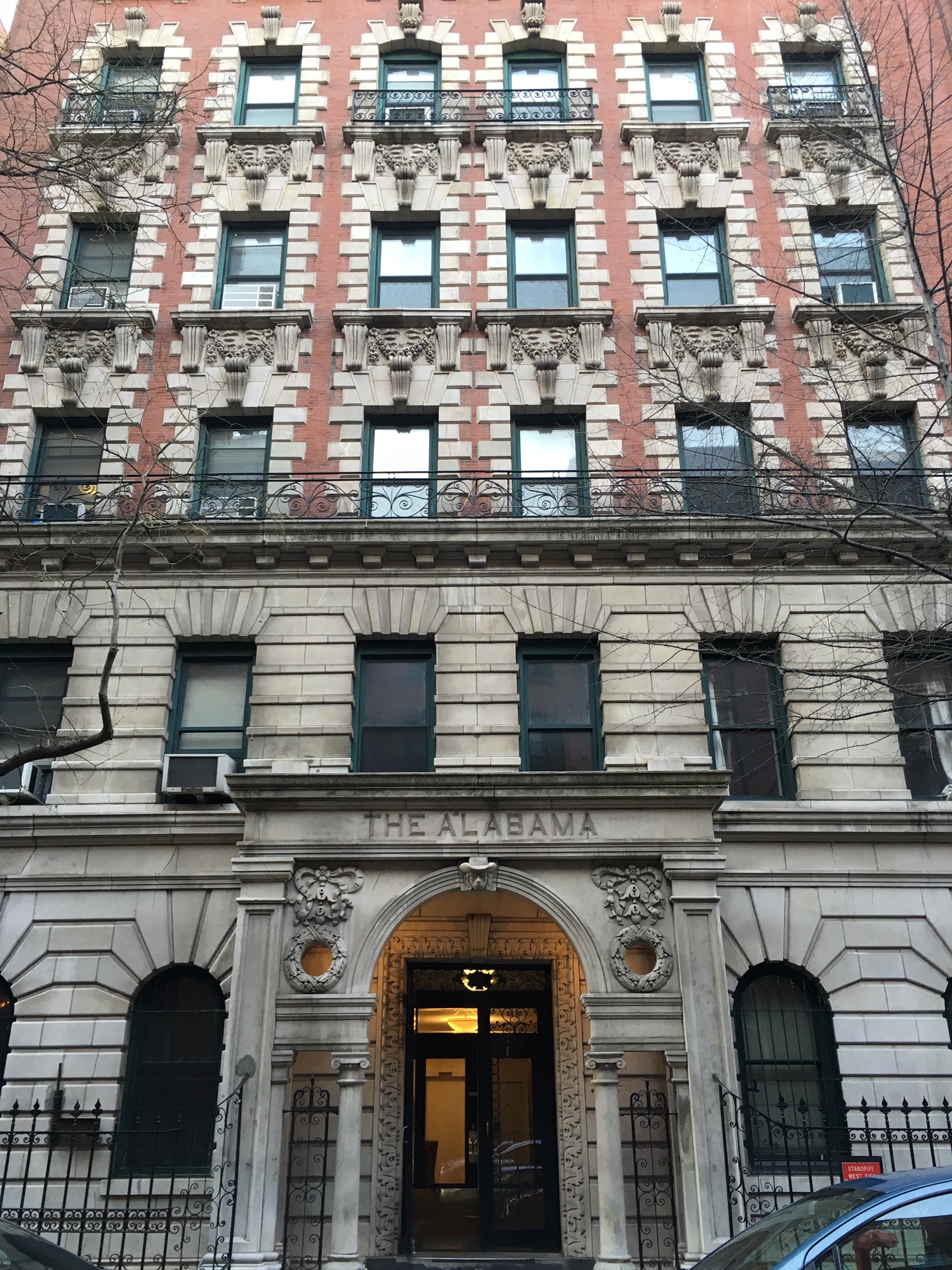 who is the man on a greenwich village building