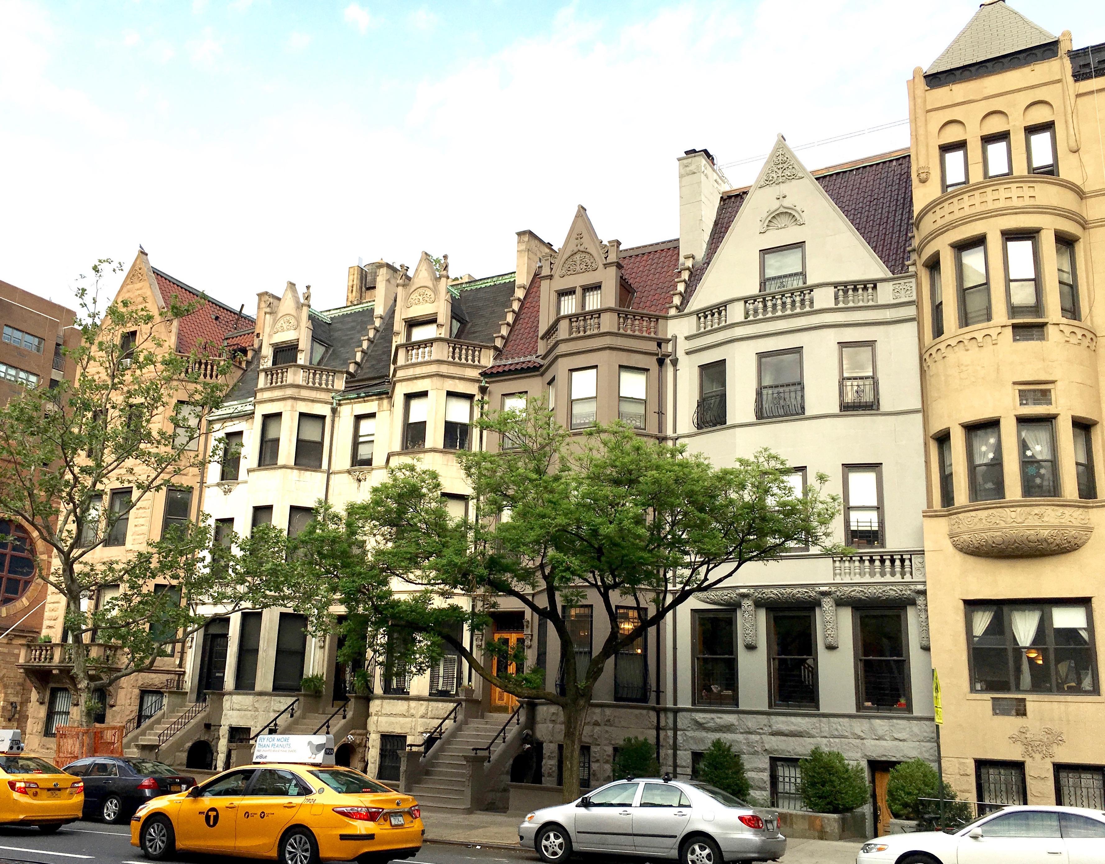 New York Row Houses : Queen anne row houses new york city ephemeral