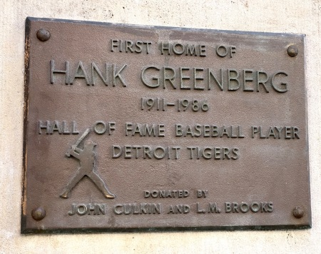 Hankgreenbergplaque