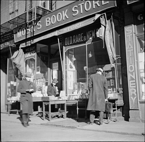 Solitary Browsing On Fourth Avenue's Book Row