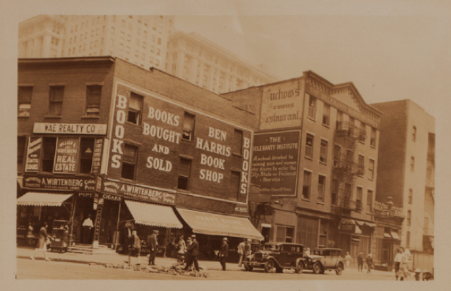 Bookstores13thst4thave1930snypl