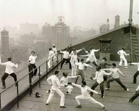 NYUfencing1929