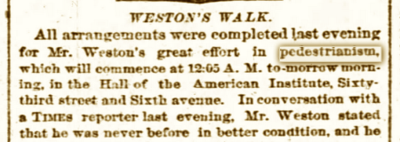PedestrianismNYT1874