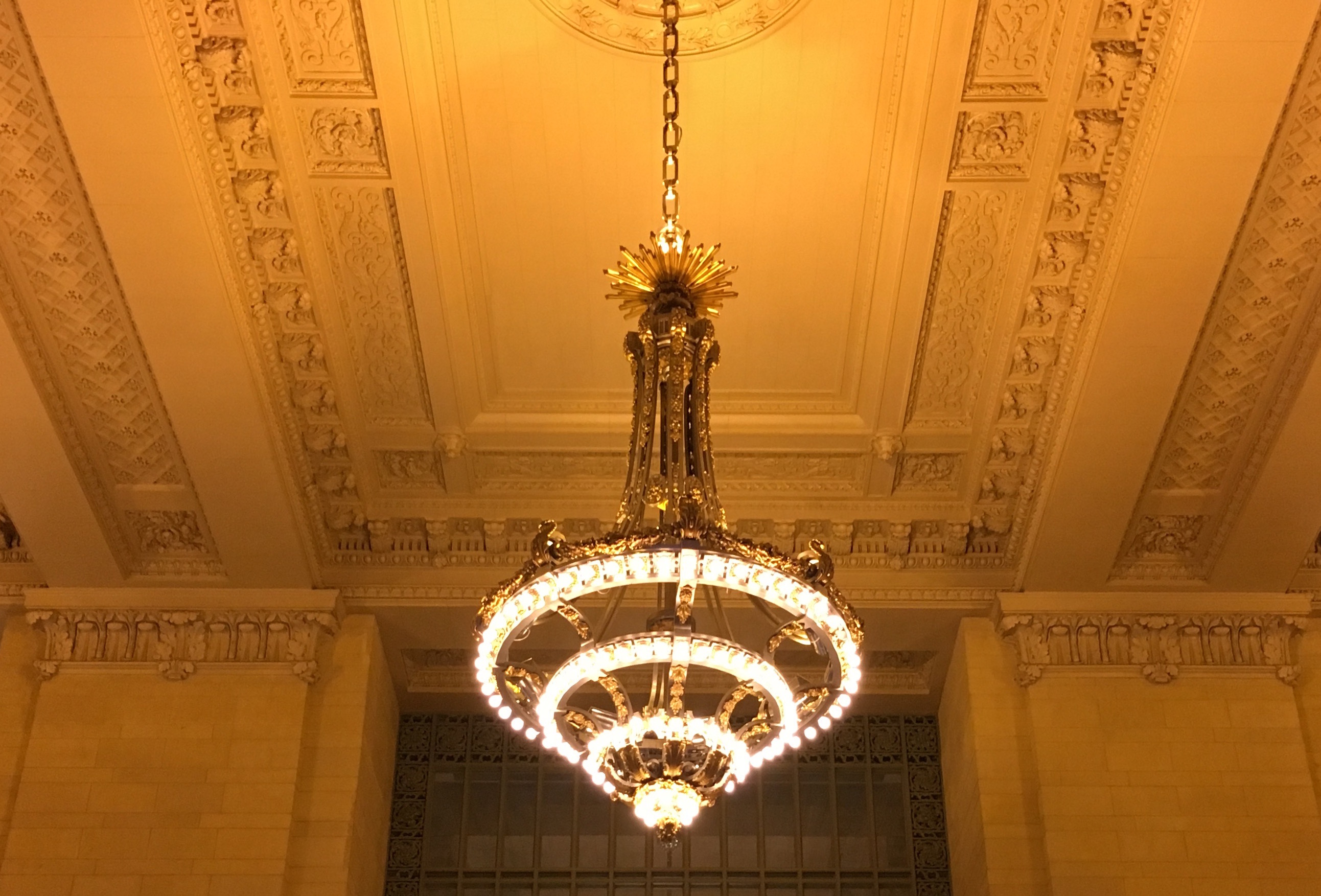 The meaning behind Grand Central s chandeliers