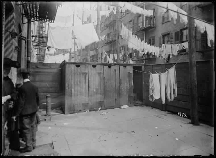 Outhouses Tenements Nyc Ephemeral New York