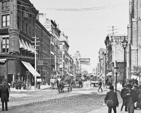 broadway10thstreet1884nycvintageimages