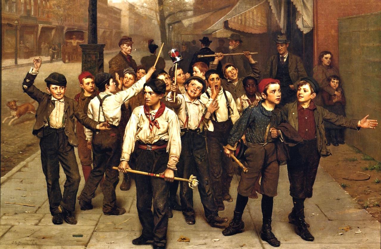 new york painters victorian era ephemeral new york