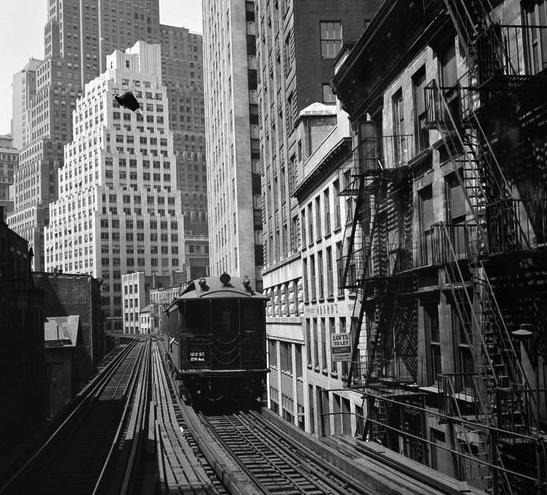 Chatham Square Subway Map.Second Avenue El Train Ephemeral New York