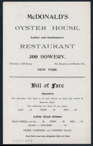 oystersmcdonaldsbowerynypl1907
