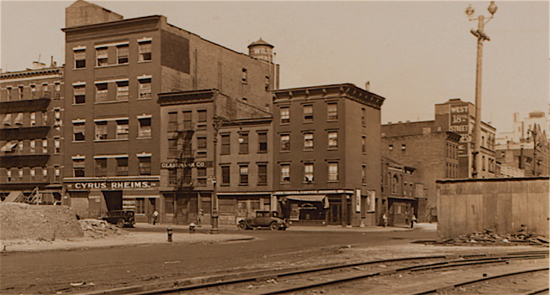 Chelsea In The 1930s And 1940s Ephemeral New York