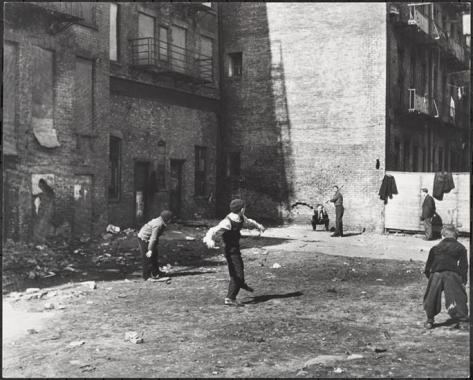 Image result for brooklyn nyc 1910s kids baseball