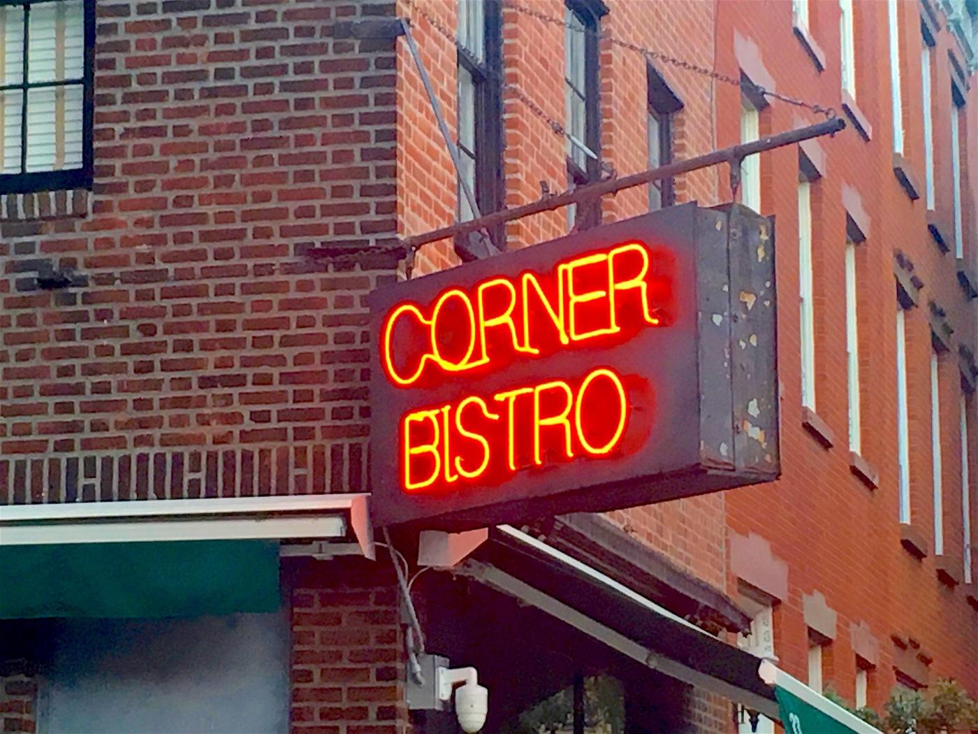 Corner Bistro West Village   Ephemeral New York