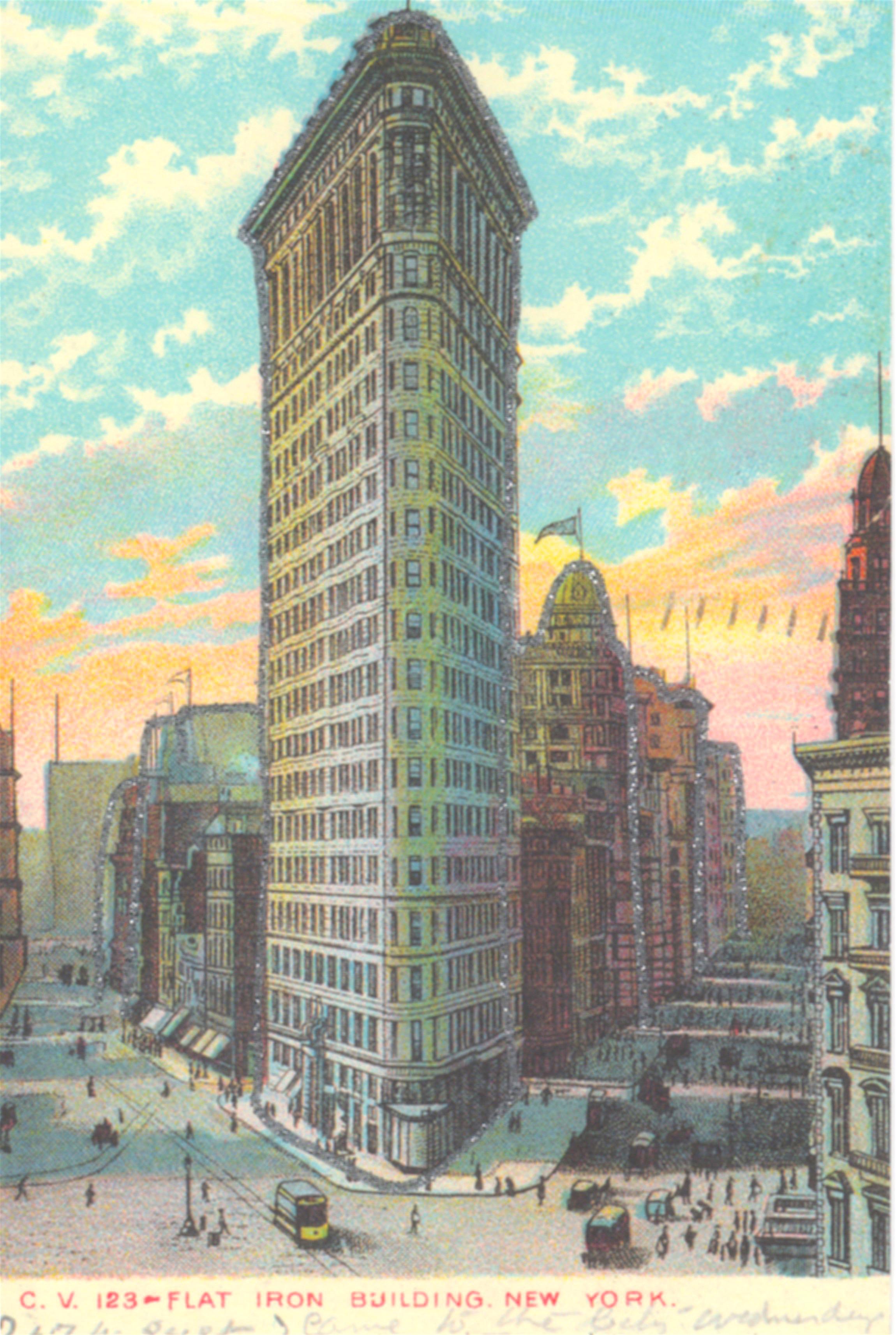 Flatiron Building. Skyscraper in Manhattan: address, description